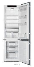 Встраиваемый холодильник SMEG C7280NLD2P