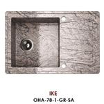 Мойка из натурального гранита Omoikiri Ike OIK-78-1-GR-SA
