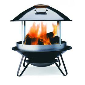 Дровяной уличный камин WEBER Fireplace, черный