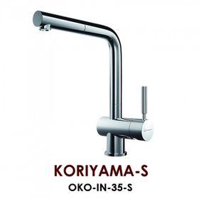 Смеситель Omoikiri Koriyama-S нерж. сталь/нерж. сталь
