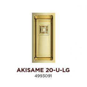 Мойка Omoikiri Akisame 20-U-LG нерж.сталь/светлое золото